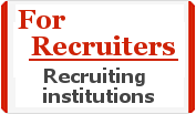 To Recruiting Institutions